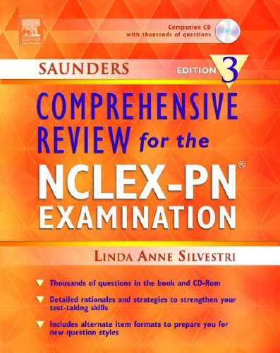 9781416000525: Saunders Comprehensive Review for the NCLEX-PN Examination, Edition 3