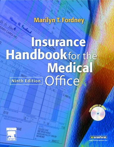 9781416001003: Insurance Handbook for the Medical Office, 9e