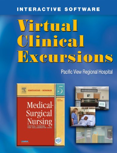 9781416001034: Virtual Clinical Excursions to Accompany Medical Surgical Nursing, Fifth Edition (workbook w/ cd-rom)