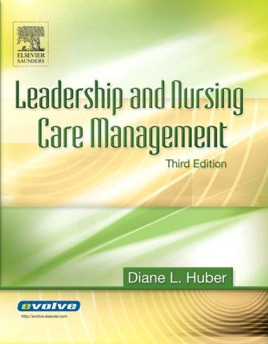 9781416001683: Leadership and Nursing Care Management, 3e