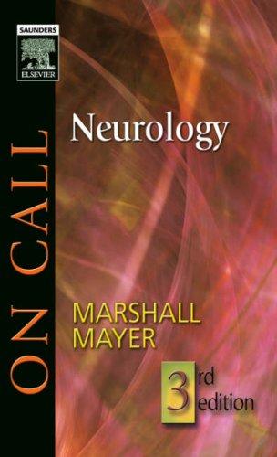 9781416023753: On Call Neurology: On Call Series, 3e
