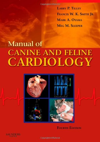9781416023982: Manual of Canine and Feline Cardiology, 4e