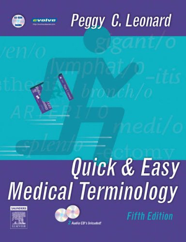 9781416024941: Quick & Easy Medical Terminology (Quick & Easy Medical Terminology (W/CD))