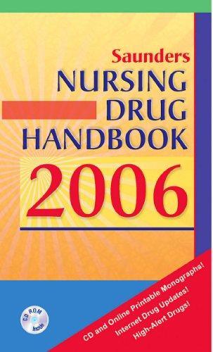 9781416025399: Saunders Nursing Drug Handbook 2006, 1e (HODGSON/NURSES DRUG HNDBK)