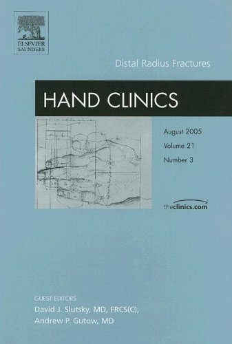 9781416026624: Distal Radius Fractures, An Issue of Hand Clinics (The Clinics: Orthopedics)