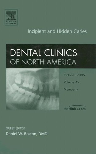 9781416028222: Incipient and Hidden Caries, An Issue of Dental Clinics (The Clinics: Dentistry)