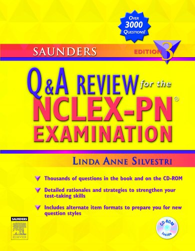9781416029120: Saunders Q & A Review for the NCLEX-PN® Examination, 3e (Saunders Questions & Answers for NCLEX-PN)