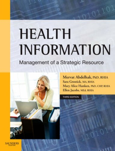 9781416030027: Health Information: Management of a Strategic Resource, 3e