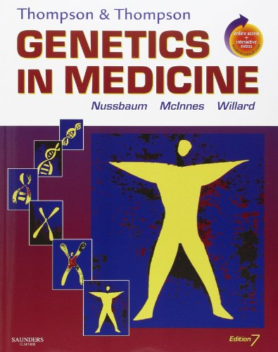 9781416030805: Thompson & Thompson Genetics in Medicine: With STUDENT CONSULT Online Access, 7e (Thompson and Thompson Genetics in Medicine)
