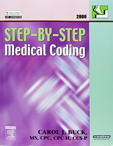 9781416032083: Medical Coding Online (Classroom) for Step-by-Step Medical Coding 2006 Edition - (Text, User Guide and Access Code Package), 1e