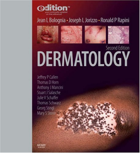9781416032694: Dermatology e-dition: Text with Continually Updated Online Reference, 2-Volume Set, 2e