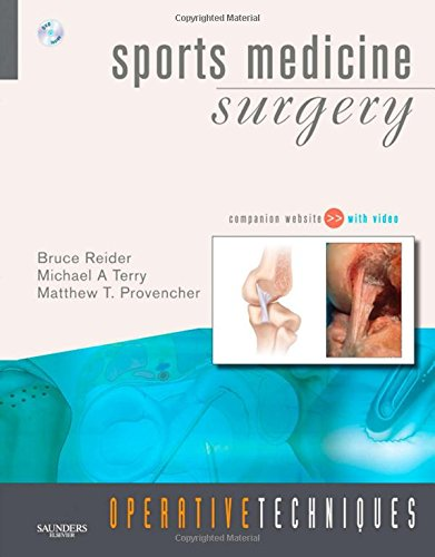 9781416032779: Operative Techniques: Sports Medicine Surgery: Book, Website and DVD, 1e