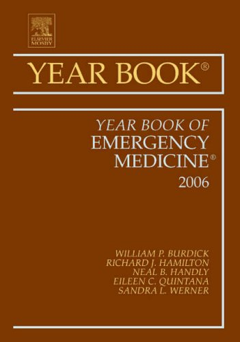 9781416033189: Year Book of Emergency Medicine, 1e (Year Books)