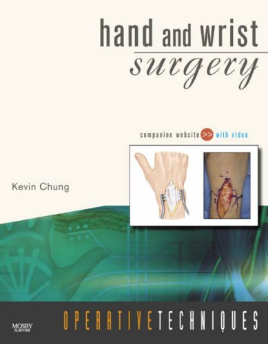 9781416036593: Operative Techniques: Hand and Wrist Surgery,