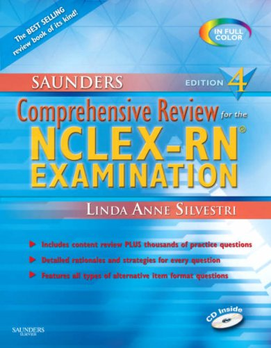 9781416037088: Saunders Comprehensive Review for the NCLEX-RN®  Examination (Saunders Comprehensive Review for Nclex-Rn)