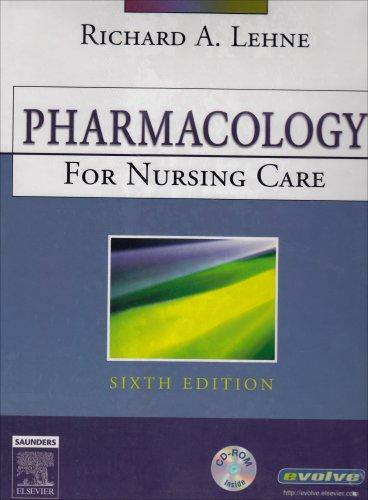 Pharmacology Online (Enhanced Version) for Pharmacology for: Richard A. Lehne