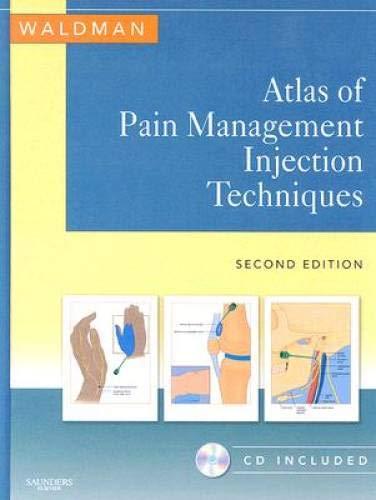 9781416038559: Atlas of Pain Management Injection Techniques