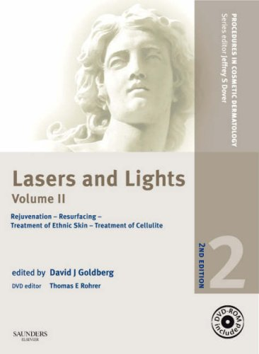 9781416042129: Procedures in Cosmetic Dermatology Series: Lasers and Lights: Volume 2 with DVD: Rejuvenation - Resurfacing - Treatment of Ethnic Skin - Treatment of Cellulite, 2e