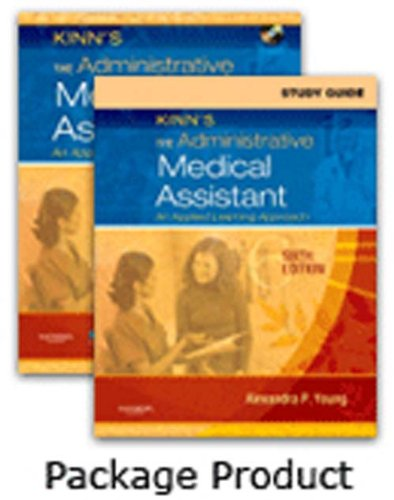 Kinn's The Administrative Medical Assistant - Text and Study Guide Package, 6e: Adams BBA RMA ...