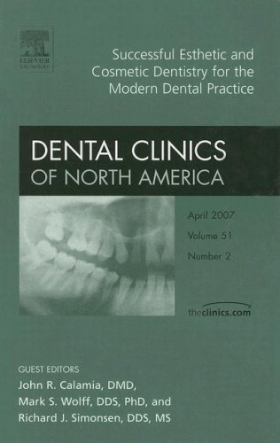 9781416043034: Successful Esthetic and Cosmetic Dentistry for the Modern Dental Practice, An Issue of Dental Clinics, 1e (The Clinics: Dentistry)