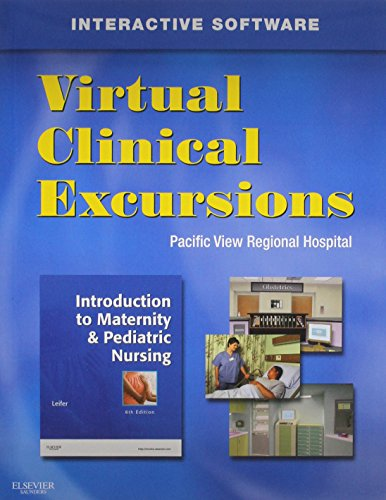 9781416044024: Virtual Clinical Excursions - Obstetrics-Pediatrics Implementation Manual (Leifer: Introduction to M