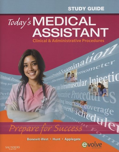 9781416044314: Study Guide for Today's Medical Assistant: Clinical & Administrative Procedures