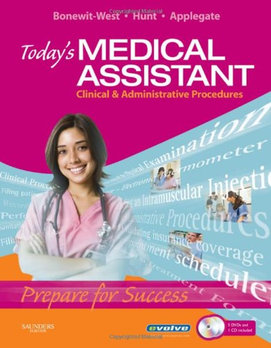9781416044321: Today's Medical Assistant: Clinical & Administrative Procedures