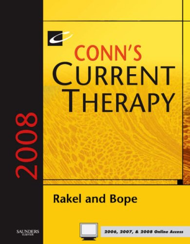 9781416044352: Conn's Current Therapy 2008: Text with Online Reference