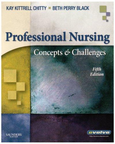 9781416044734: Professional Nursing: Concepts & Challenges (Professional Nursing; Concepts and Challenges)