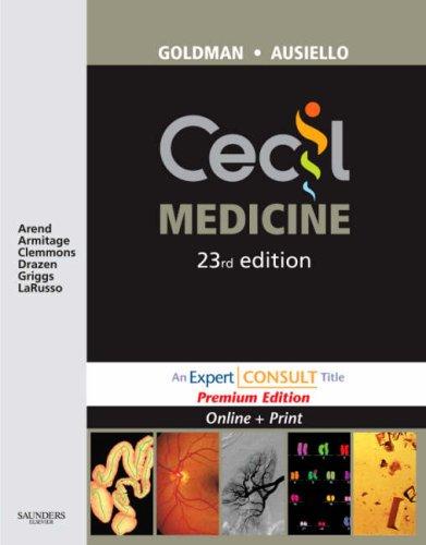 9781416044789: Cecil Medicine: Expert Consult Premium Edition - Enhanced Online Features and Print