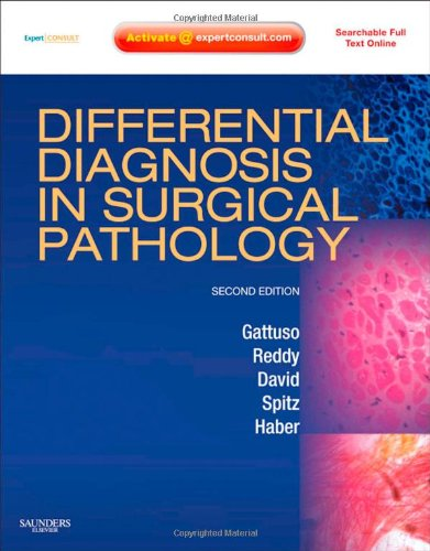 9781416045809: Differential Diagnosis in Surgical Pathology: Expert Consult - Online and Print, 2e