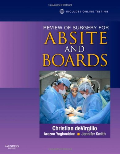 9781416046905: Review of Surgery for ABSITE and Boards, 1e