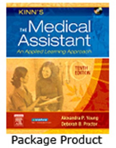 9781416047001: Kinn's The Medical Assistant - Text and Study Guide Package: An Applied Learning Approach