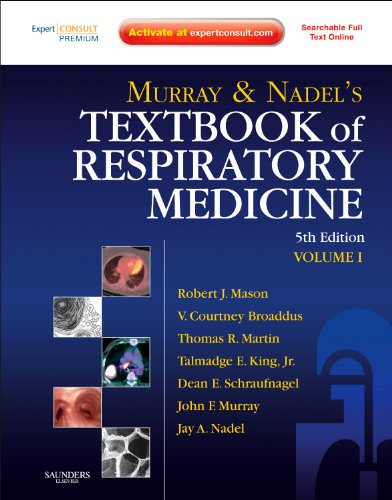9781416047100: Murray and Nadel's Textbook of Respiratory Medicine: 2-Volume Set, 5e (Textbook of Respiratory Medicine (Murray))