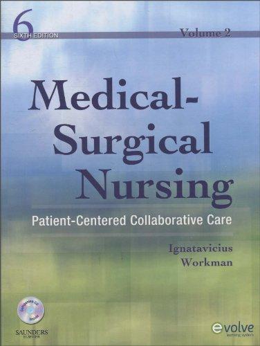 9781416049036: Medical-Surgical Nursing: Patient-Centered Collaborative Care, 2-Volume Set, 6e
