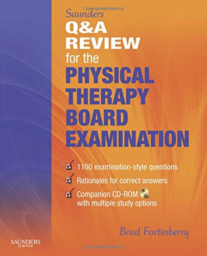9781416049791: Saunders' Q & A Review for the Physical Therapy Board Examination, 1e