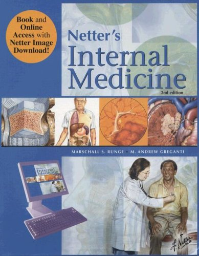 9781416049975: Netter's Internal Medicine Book & Online Access at www.NetterReference.com, 2e (Netter Clinical Science)