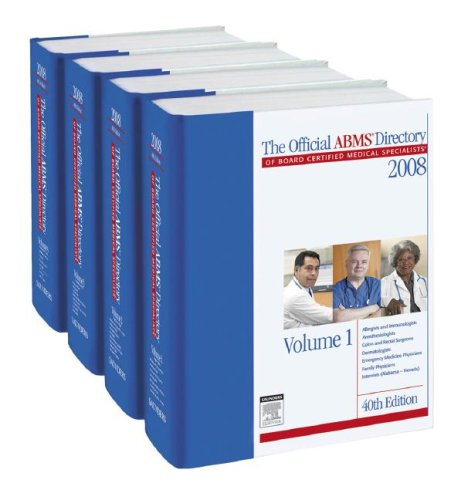The Official ABMS Directory of Board Certified: ABMS