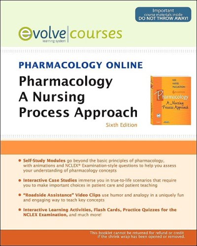 9781416053057: Pharmacology Online for Pharmacology (User Guide and Access Code): A Nursing Process Approach, 6e