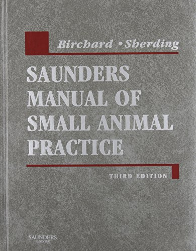 9781416053651: Saunders Manual of Small Animal Practice - Text and VETERINARY CONSULT Package, 3e