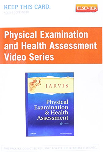 Physical Examination and Health Assessment Video Series: Jarvis, Carolyn