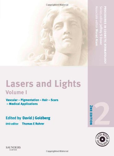9781416054887: Procedures in Cosmetic Dermatology Series: Lasers and Lights with DVD - Volume 1, 2e