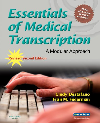 9781416055808: Essentials of Medical Transcription: A Modular Approach, Revised 2nd Edition