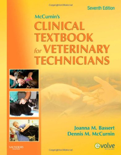 9781416057000: McCurnin's Clinical Textbook for Veterinary Technicians, 7e