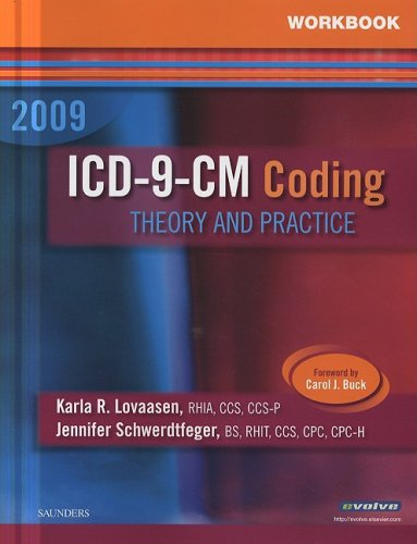 9781416058809: Workbook for ICD-9-CM Coding, 2009 Edition: Theory and Practice, 1e