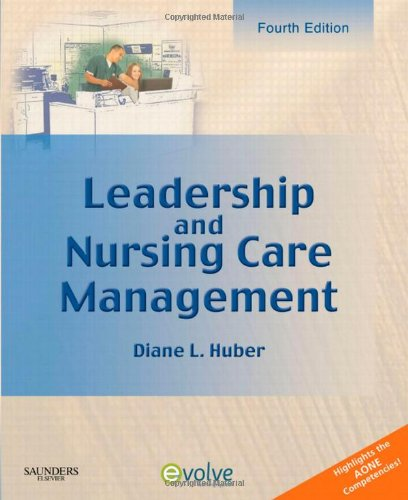 9781416059844: Leadership and Nursing Care Management, 4e
