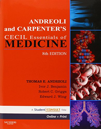 9781416061090: Andreoli and Carpenter's Cecil Essentials of Medicine: With STUDENT CONSULT Online Access, 8e (Cecil Medicine)