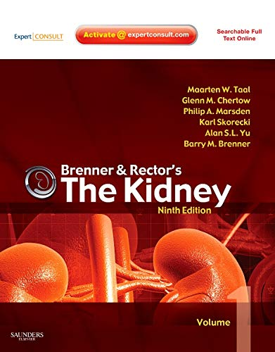 9781416061939: Brenner and Rector's The Kidney: Expert Consult - Online and Print 2-Volume Set, 9e