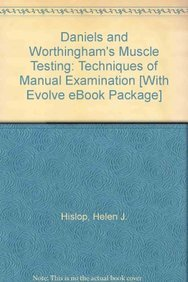 9781416066170: Daniels and Worthingham's Muscle Testing - Text and E-Book Package: Techniques of Manual Examination, 8e