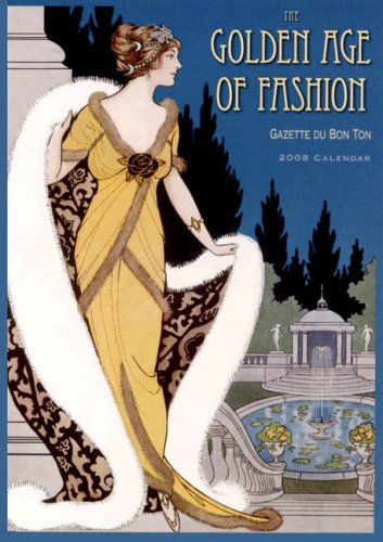 9781416213406: Golden Age of Fashion Wall Calendar (English and French Edition)